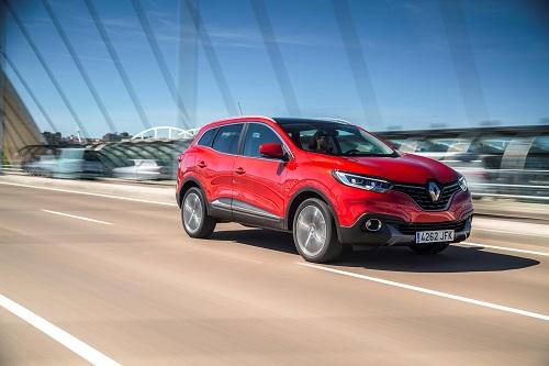 El Renault Kadjar estrena la mecánica gasolina TCe de 165 CV que se posiciona como tope de gama