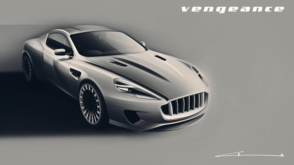 Kahn Vengeance o el Aston Martin tuneado