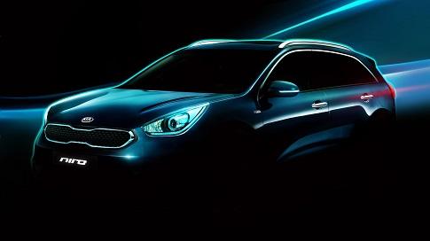 Primer adelanto oficial del Kia Niro, el nuevo SUV híbrido