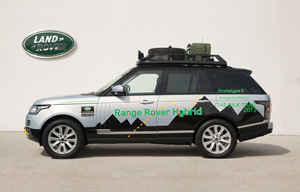 Range Rover híbridos 2013