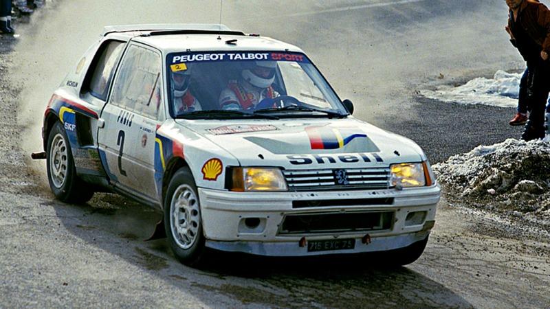 El Peugeot 205 T16 Grupo B de Ari Vatanen a subasta
