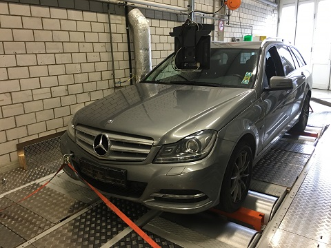 DUH apunta al Mercedes C 200 CDI por exceso de emisiones