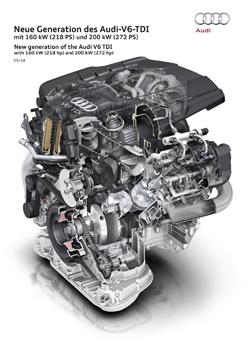 Nuevo motor 3.0 TDI V6 de Audi