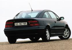 El Opel Calibra cumple veinticinco años