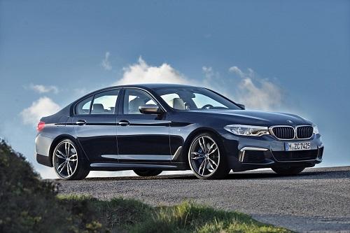 BMW M550i xDrive, M Performance nos brinda esta espectacular antesala del M5