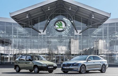 La historia de un gran éxito: 25 aniversario de la unión entre Skoda y Volkswagen