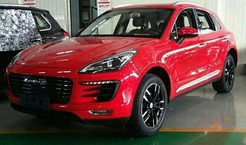 Zotye SR8, el Porsche Macan chino a punto para su debut