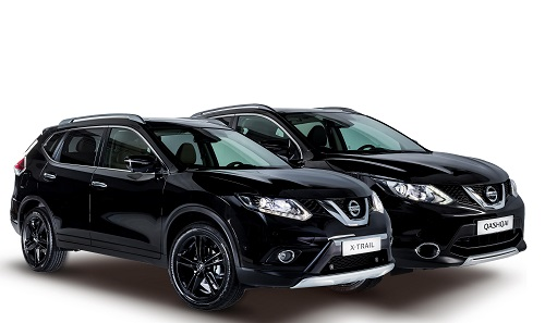 Nissan Qashqai y X-Trail Black Edition: puesta de largo en Madrid