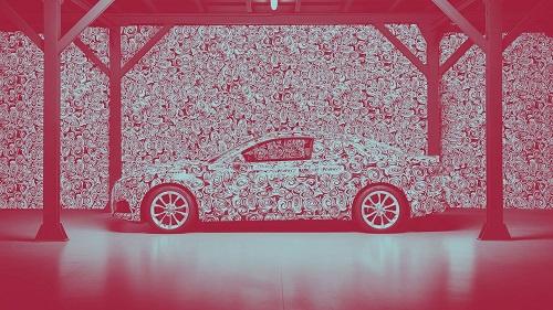 Audi nos adelanta con este teaser la imagen camuflada de su nuevo A5