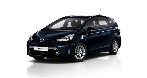 Toyota Prius+ 2016, leves cambios para la gama del monovolumen híbrido
