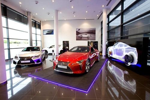 Lexus F & F Sport Corner, el exclusivo espacio para los Lexus más deportivos se estrena en Madrid