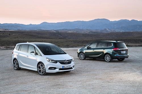 Opel Zafira: más tecnológico y con un look más deportivo