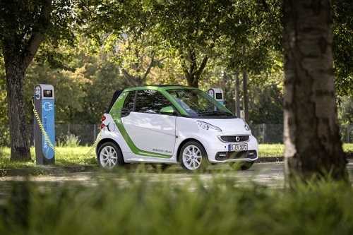 La nueva gama Smart Electric Drive debutará en París