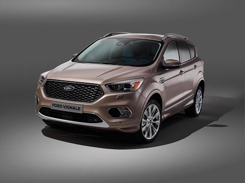 Ford Kuga Vignale, lujo y distinción para el SUV compacto