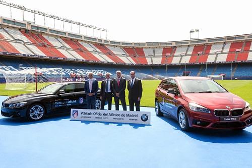 El Atlético de Madrid aparca los Volkswagen para pasarse a BMW