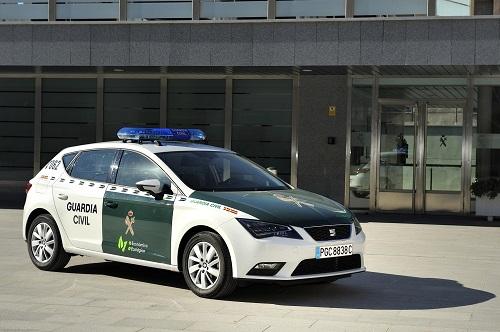 La Guardia Civil es ahora más verde con este nuevo SEAT León TGI a gas