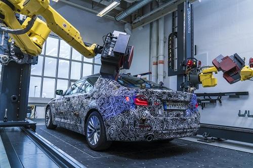 BMW nos muestra su nuevo Serie 5, aunque todavía camuflado
