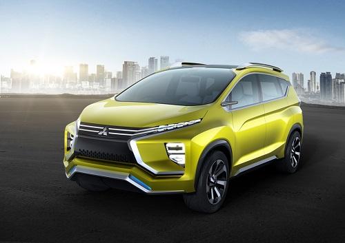 Mitsubishi XM Concept, así es al descubierto