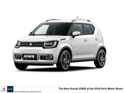 Suzuki Ignis, el renovado crossover debutará en París