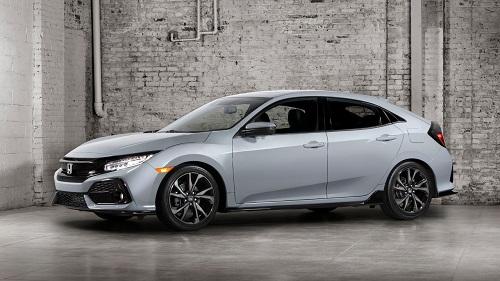 La décima generación del Honda Civic al asalto de USA en formato hatchback