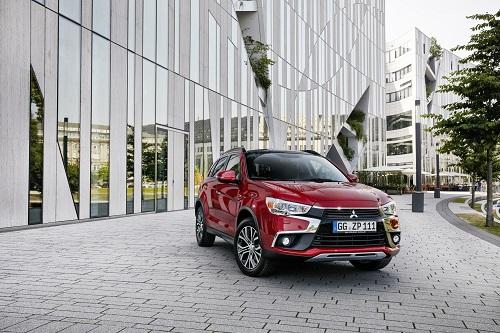 Mitsubishi ASX 2017, estrenando facelift en París