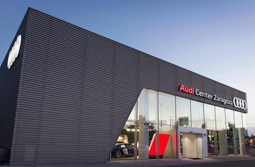 Audi Center Zaragoza, el nuevo espacio de los 4 aros en la capital maña