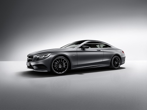 Mercedes-Benz Clase S Coupé Night Edition, un plus de distinción