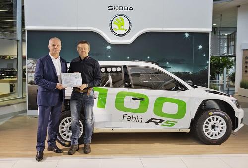 Skoda Fabia R5, el exitoso coche de rallyes alcanza el centenar de unidades producidas