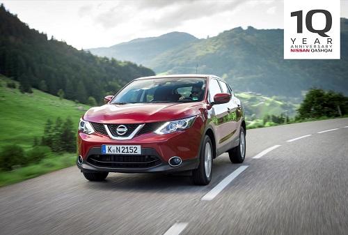 Nissan Qashqai: 10 años de éxitos del fiel representante del movimiento SUV