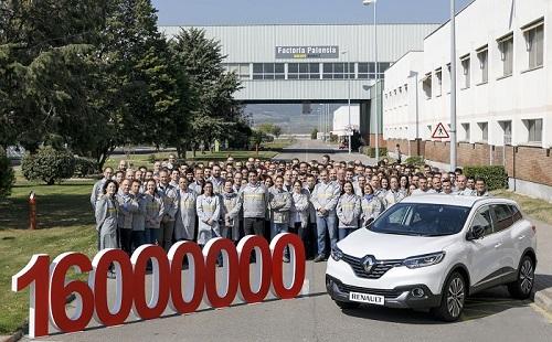 Renault España: 16 millones de vehículos producidos en nuestro país