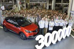 Valladolid produce el Renault Captur 300.000