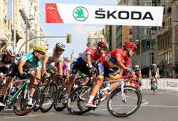 Skoda, veh�culo oficial de la Vuelta Ciclista a Espa�a