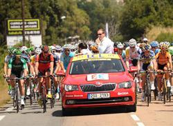 Skoda, coche oficial de la Vuelta al Pa�s Vasco