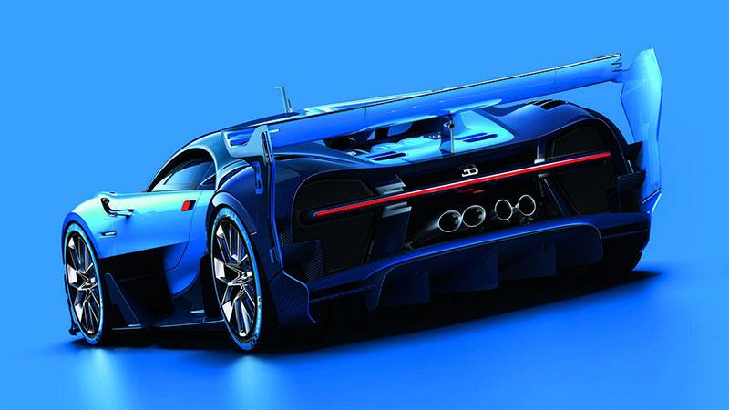 Bugatti Vision Gran Turismo en el IAA 2015