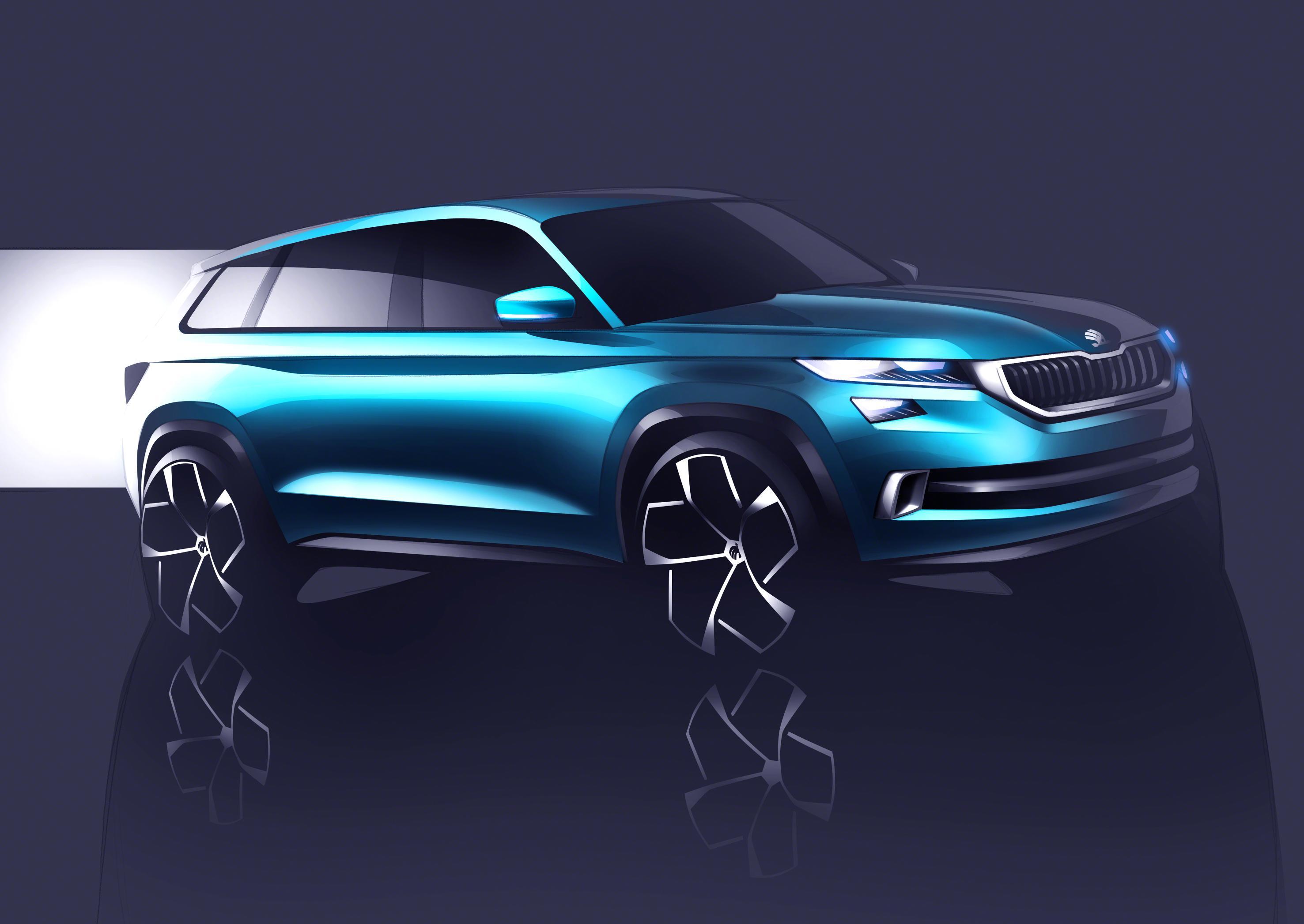 Skoda VisionS, el concept SUV que conoceremos en Ginebra (Salón Ginebra 2016)
