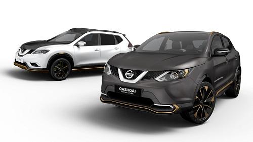 Nissan Qashqai y Nissan X-Trail Premium Concept, directos a Ginebra (Salón Ginebra 2016)