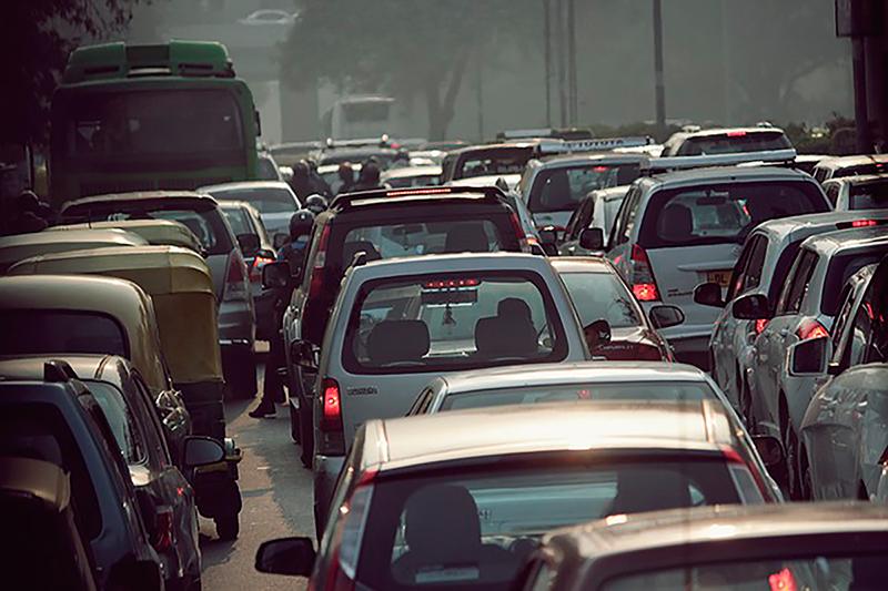 Hormigón que reduce contaminación; Depolluting