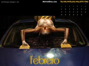 Fondo de escritorio Calendario MotorGiga Febrero 2009