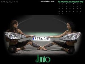 Fondo de escritorio Calendario MotorGiga Junio 2009