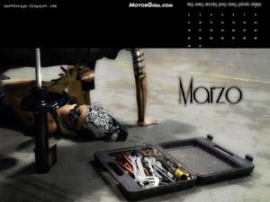 Fondo de escritorio Calendario MotorGiga Marzo 2009