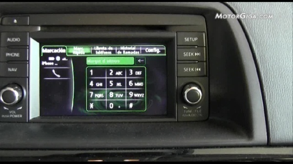 Video Mazda Cx5 2012 - Sistema Infotainment