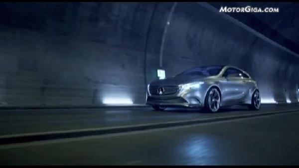 Video Mercedes Clase-a 2011 - Concept