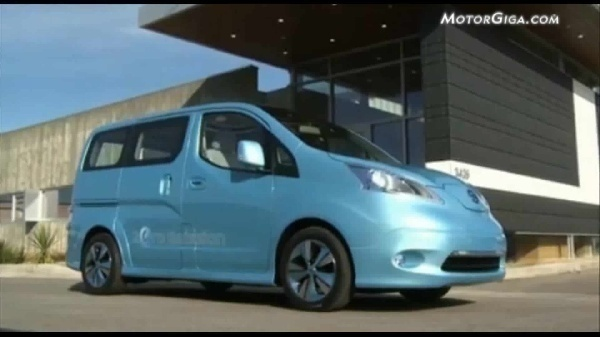 Video Nissan Prototipos 2012 - E Nv200 Electrico