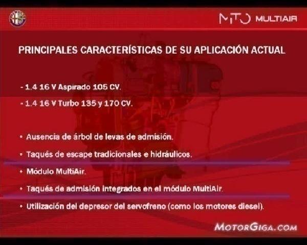 Video Tecnica Funcionamiento Motores - Sistema Multiair Funcionamiento