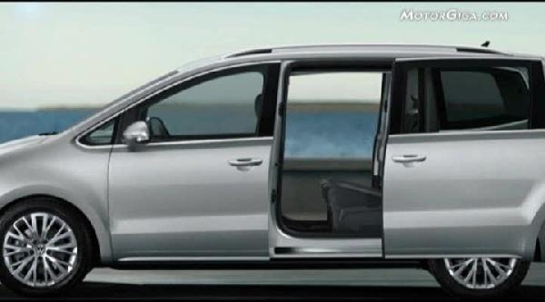 Video Volkswagen Sharan 2010