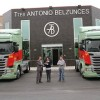 Suma y sigue. Transportes Antonio Belzunces incorpora 11 Scania R450