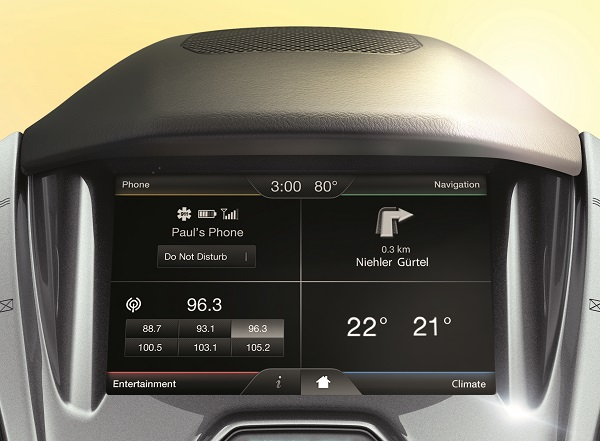 SYNC 2 Ford Transit Connect