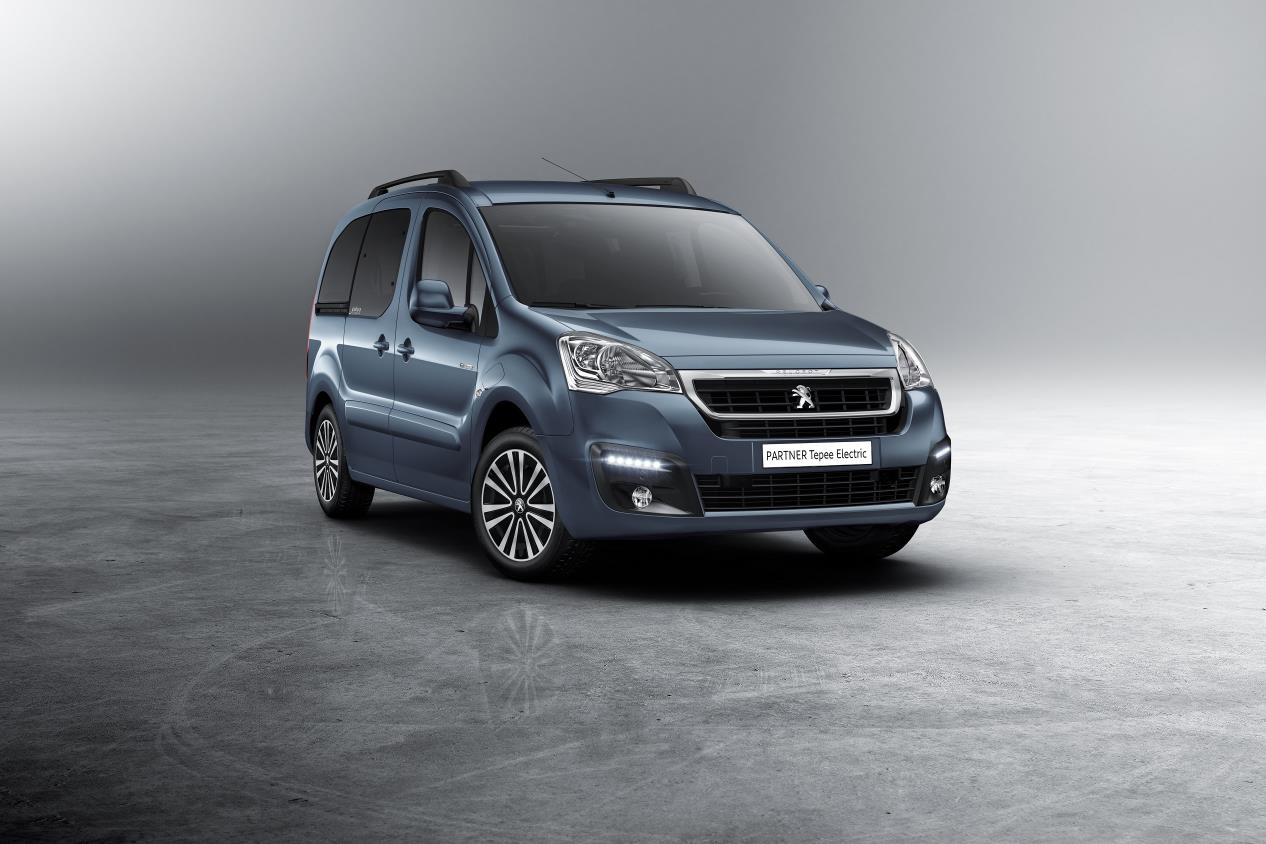 Peugeot Partner Tepee Electric, vista frontal