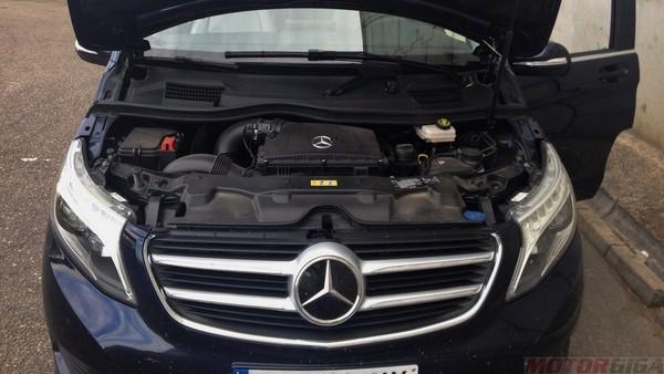 Prueba Mercedes V 250