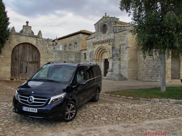 Prueba Mercedes V250